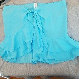 Cover-up skirt